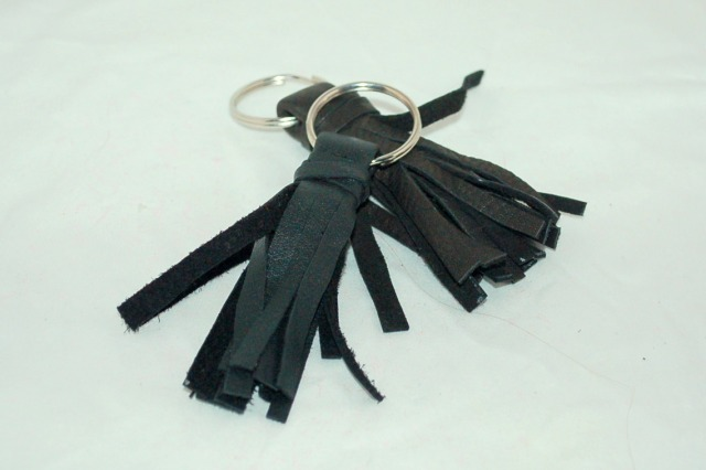 leather key chain DIY