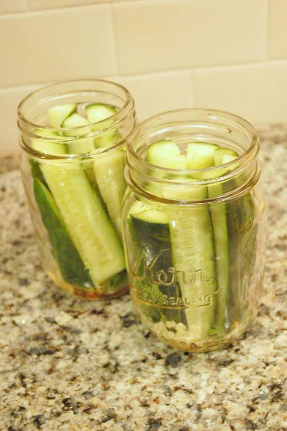 mason jar pickles