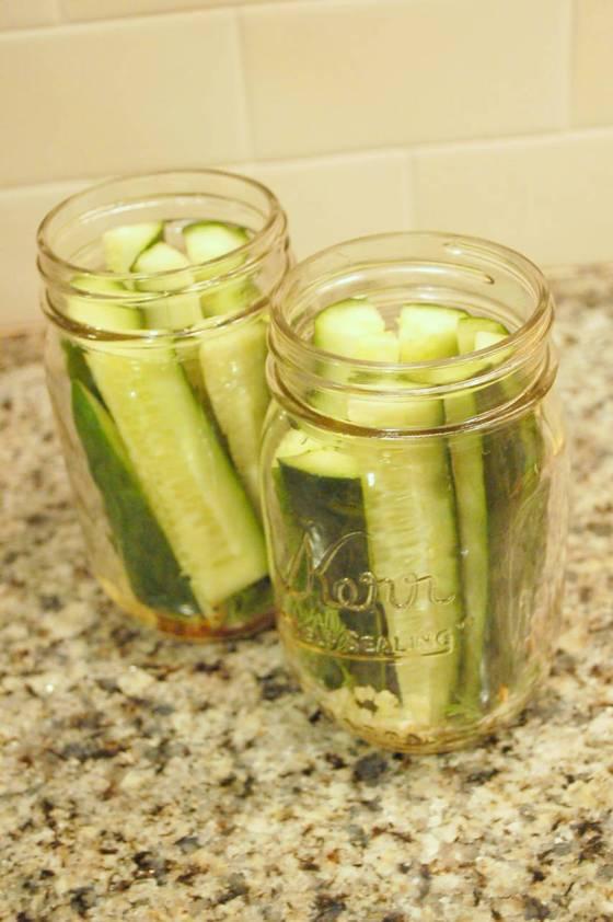 mason jar pickles