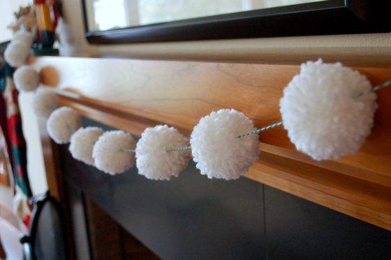 snowball garland