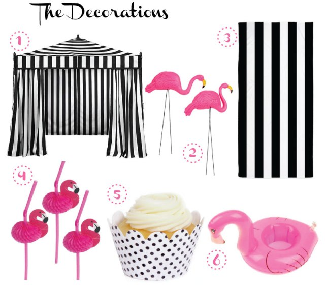 Flamingo-Decorations