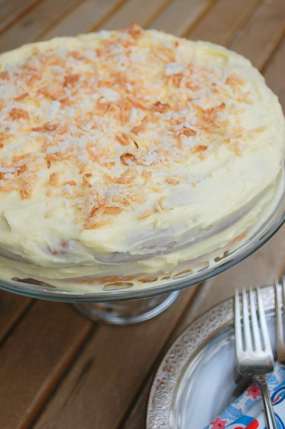 Coconut Cake Cream Cheese Frosting